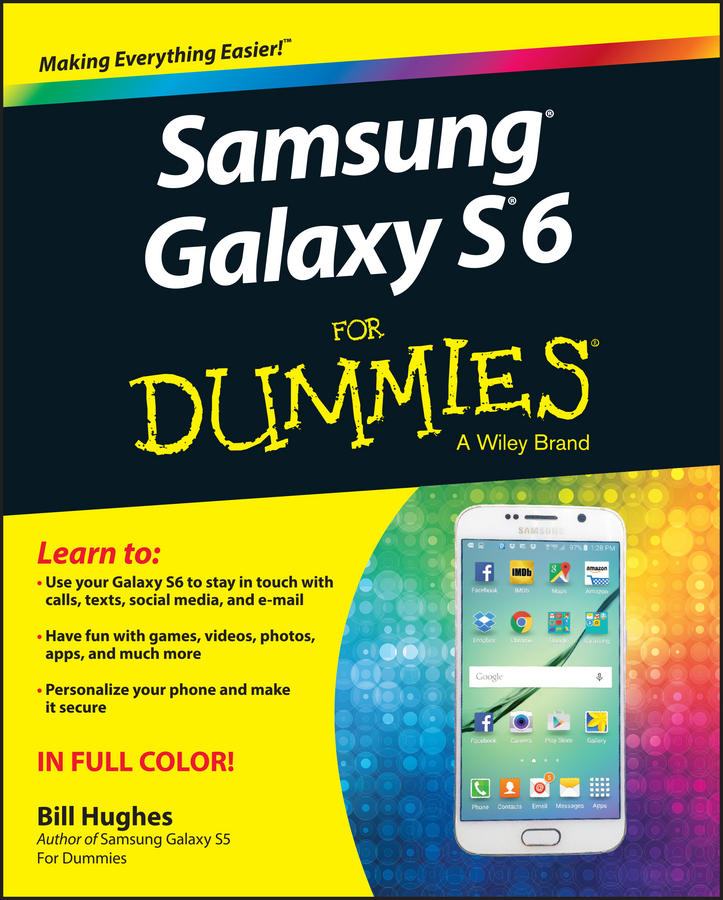 Hughes, Bill - Samsung Galaxy S6 for Dummies, ebook