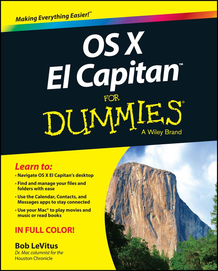 LeVitus, Bob - OS X El Capitan For Dummies, ebook