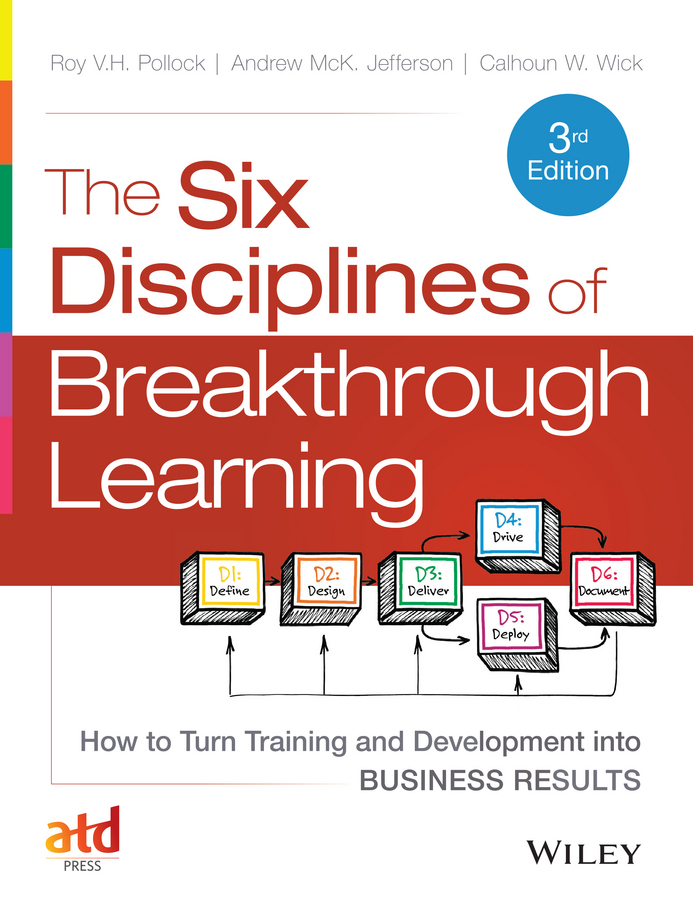 Jefferson, Andy - The Six Disciplines of Breakthrough Learning: How to Turn Training and Development into Business Results, ebook