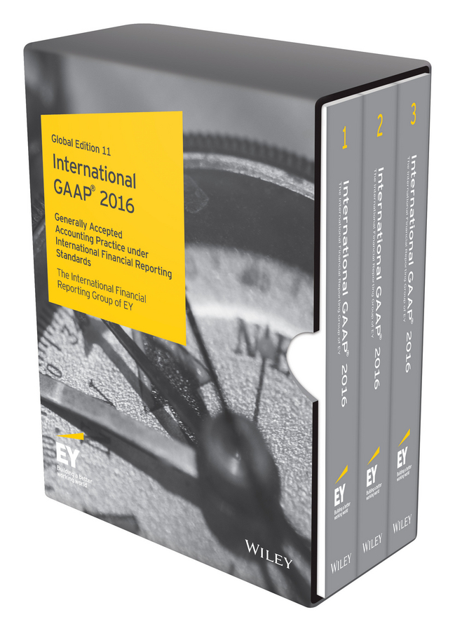 - International GAAP 2016: Generally Accepted Accounting Principles under International Financial Reporting Standards, ebook
