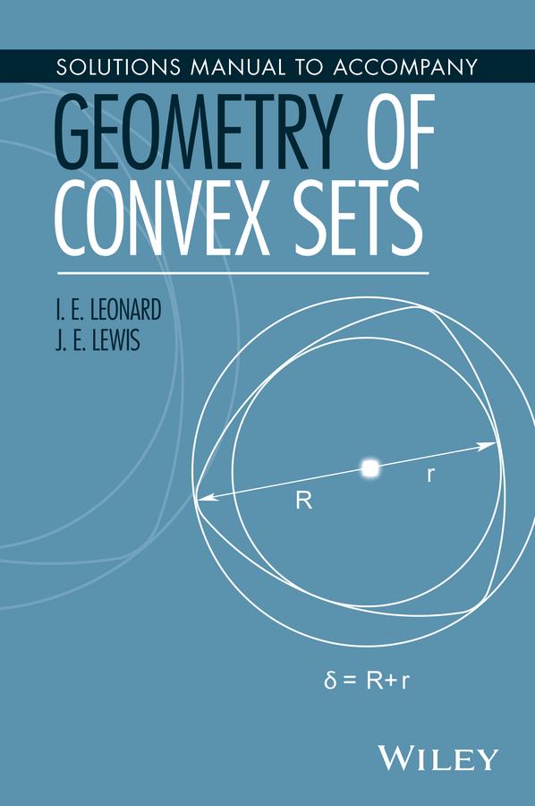 Leonard, I. E. - Solutions Manual to Accompany Geometry of Convex Sets, ebook