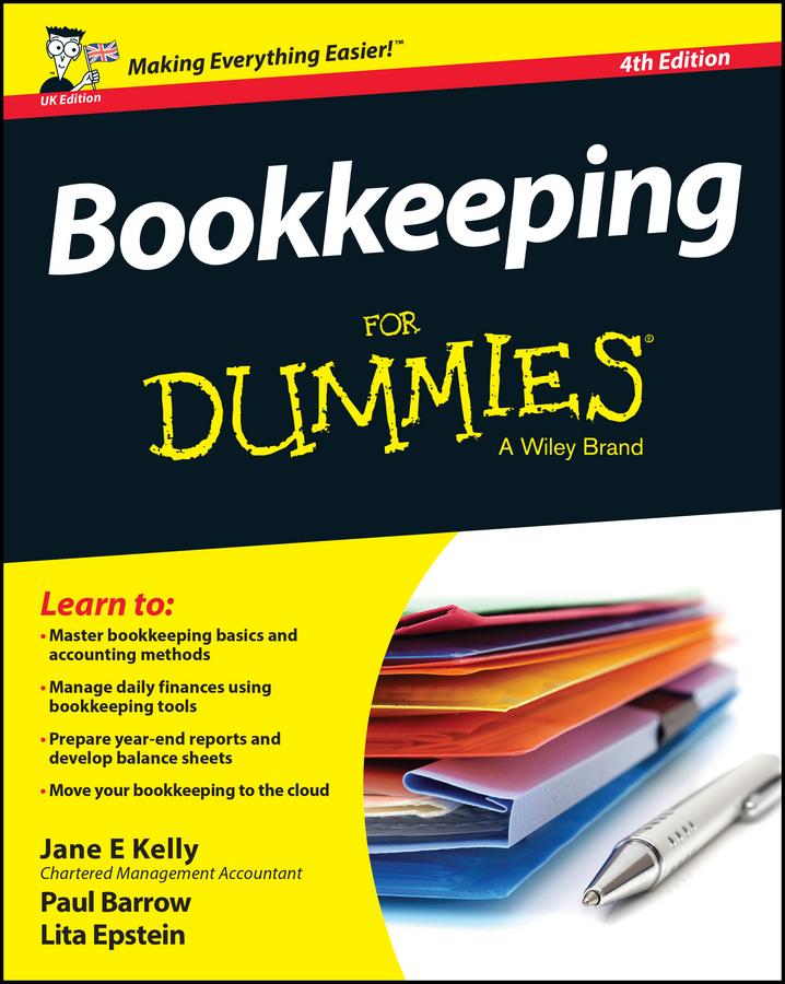Barrow, Paul - Bookkeeping For Dummies, ebook
