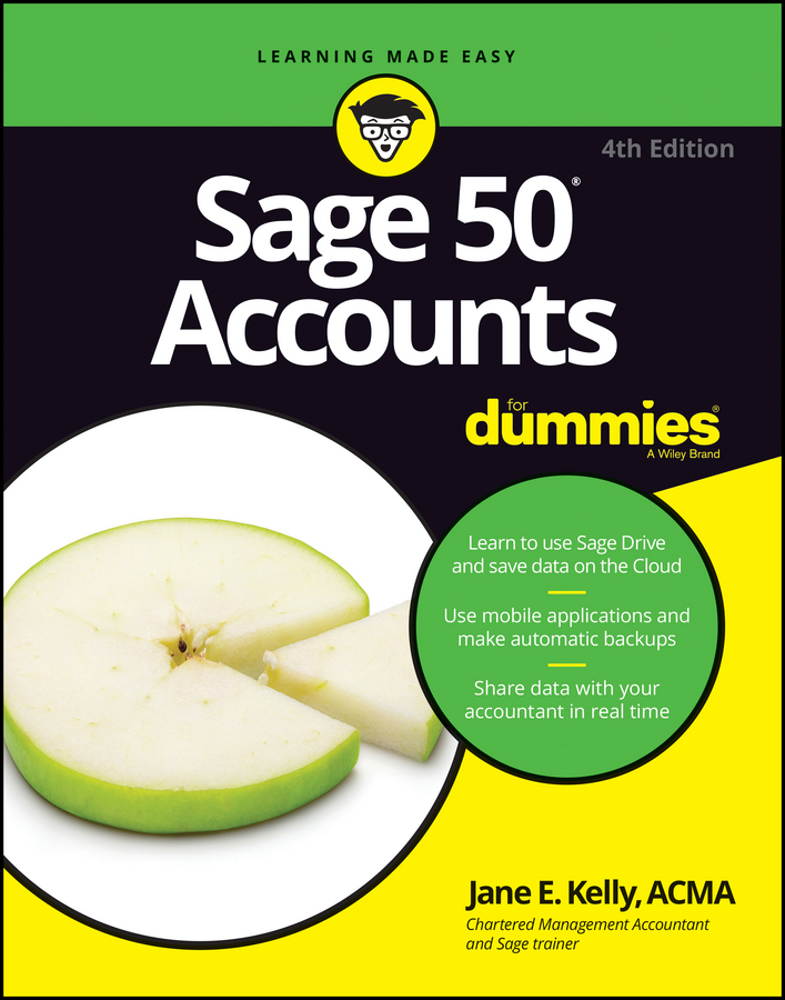 Kelly, Jane E. - Sage 50 Accounts For Dummies, ebook