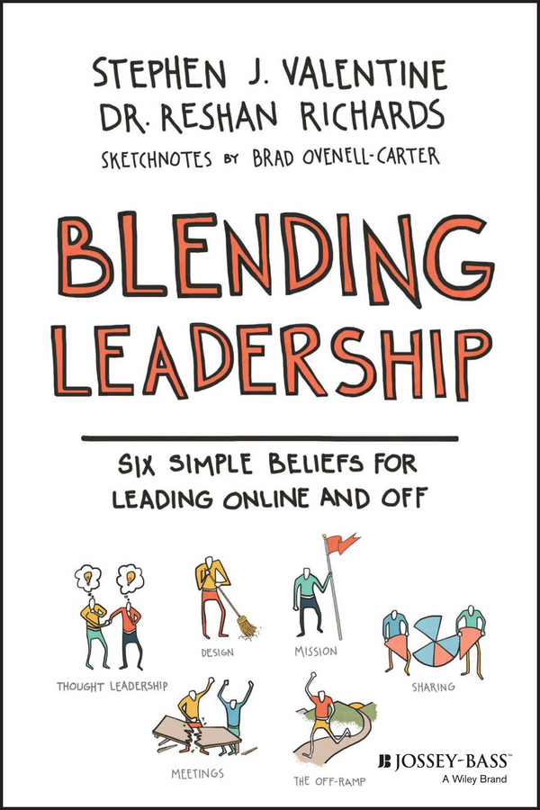Ovenell-Carter, Brad - Blending Leadership: Six Simple Beliefs for Leading Online and Off, ebook