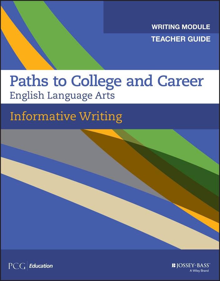 - Informative Writing, Teacher Guide, Grades 9-12, ebook