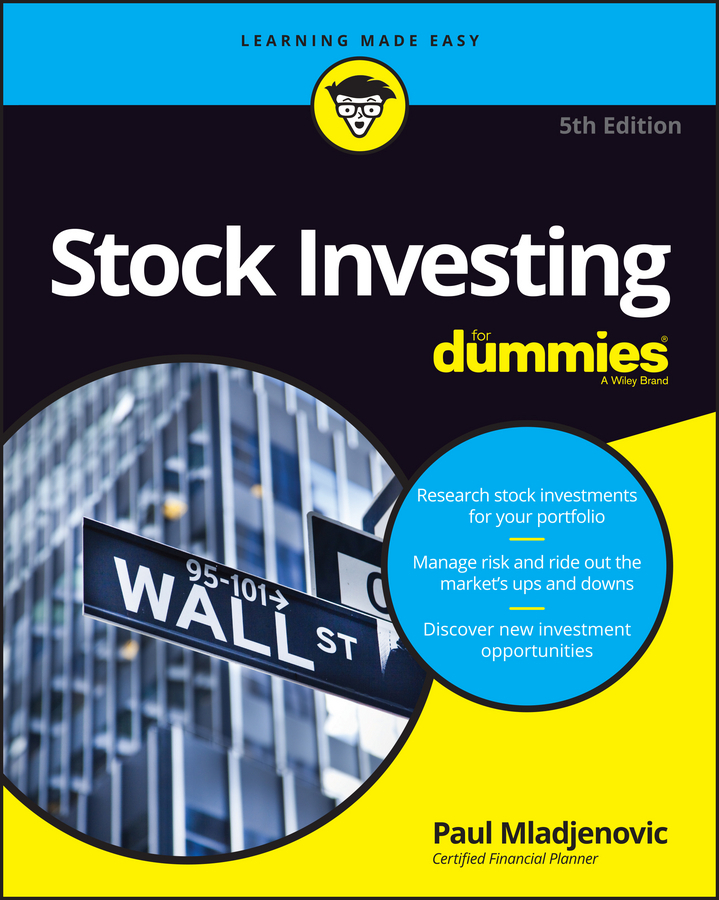 Mladjenovic, Paul - Stock Investing For Dummies, ebook