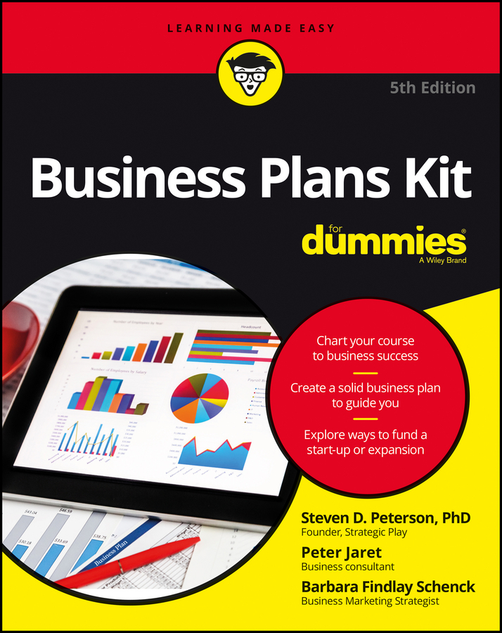 Jaret, Peter E. - Business Plans Kit For Dummies, ebook