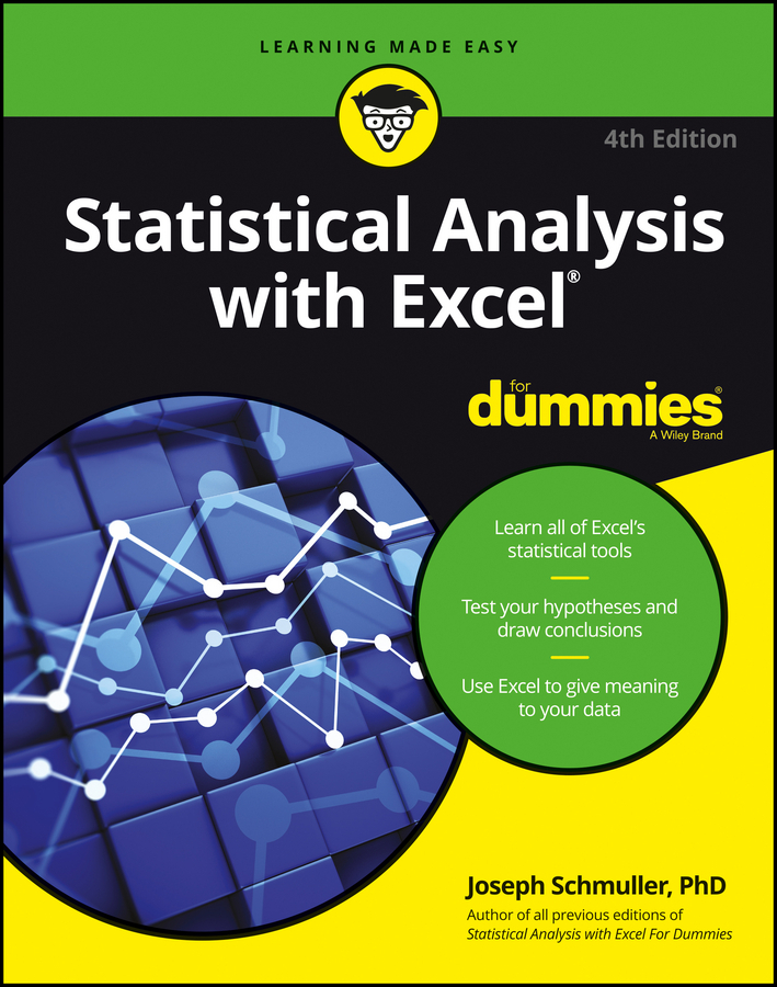 Schmuller, Joseph - Statistical Analysis with Excel For Dummies, ebook