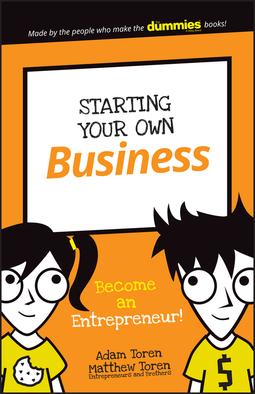 Toren, Adam - Starting Your Own Business: Become an Entrepreneur!, ebook