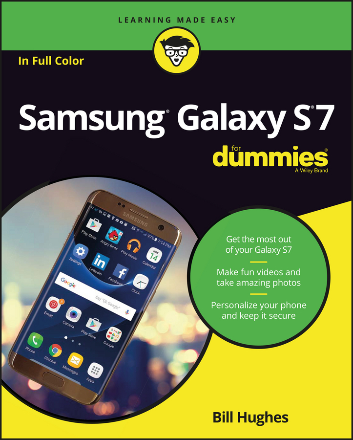Hughes, Bill - Samsung Galaxy S7 For Dummies, ebook