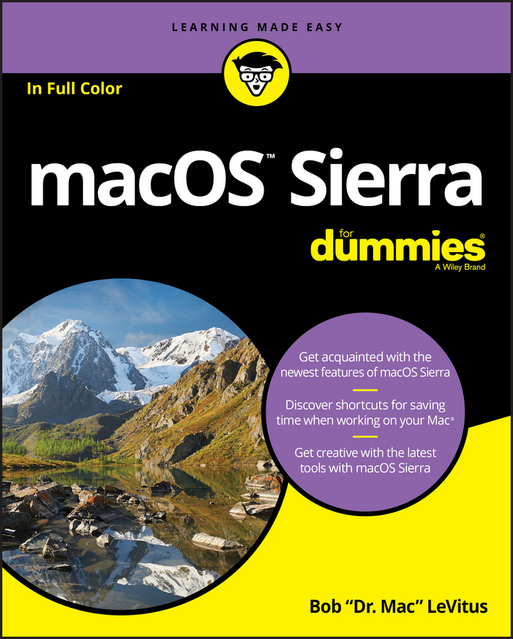 LeVitus, Bob - macOS Sierra For Dummies, ebook