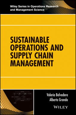 Belvedere, Valeria - Sustainable Operations and Supply Chain Management, ebook
