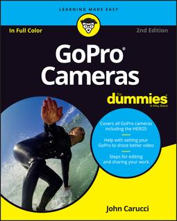 Carucci, John - GoPro Cameras For Dummies, ebook