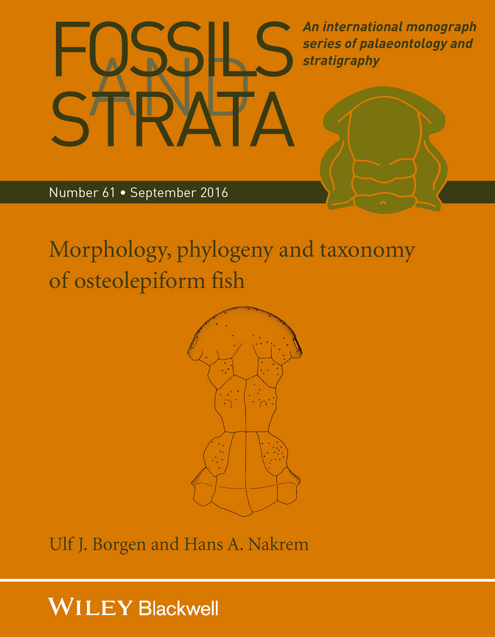 Borgen, Ulf J. - Fossils and Strata, Morphology, Phylogeny and Taxonomy of Osteolepiform Fish, ebook