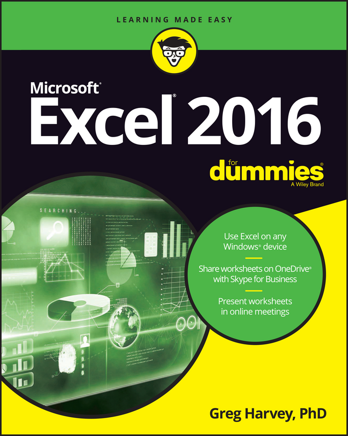 Harvey, Greg - Excel 2016 For Dummies, ebook
