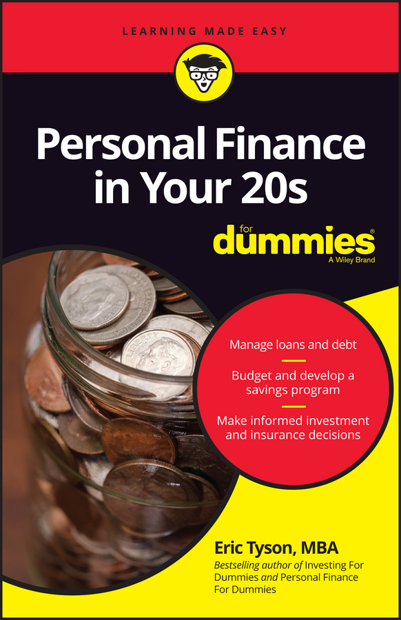 Tyson, Eric - Personal Finance in Your 20s For Dummies, e-bok