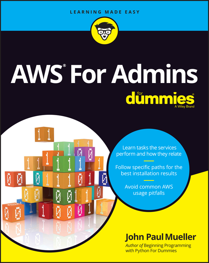 Mueller, John Paul - AWS For Admins For Dummies, e-bok