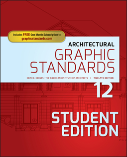 Hedges, Keith E. - Architectural Graphic Standards, ebook