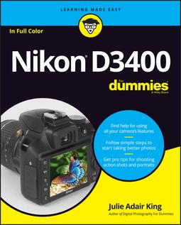 King, Julie Adair - Nikon D3400 For Dummies, ebook