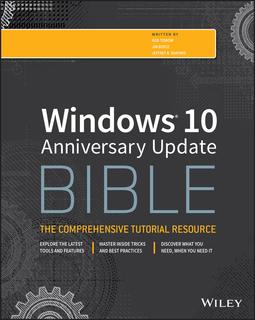 Boyce, Jim - Windows 10 Anniversary Update Bible, ebook