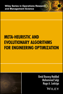 Bozorg-Haddad, Omid - Meta-heuristic and Evolutionary Algorithms for Engineering Optimization, ebook