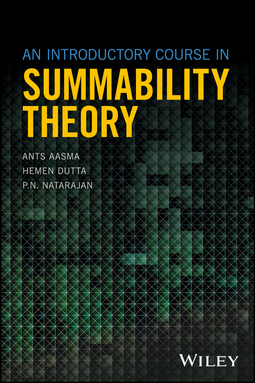 Aasma, Ants - An Introductory Course in Summability Theory, ebook