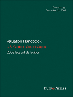 Grabowski, Roger J. - Valuation Handbook - U.S. Guide to Cost of Capital 2003, ebook