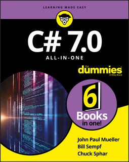 Mueller, John Paul - C# 7.0 All-in-One For Dummies, e-bok