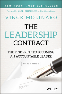 Molinaro, Vince - The Leadership Contract: The Fine Print to Becoming an Accountable Leader, ebook