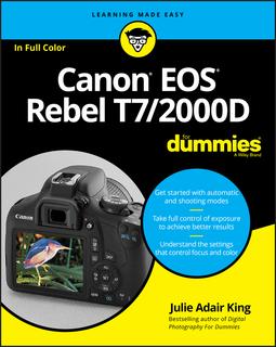 King, Julie Adair - Canon EOS Rebel T7/2000D For Dummies, ebook