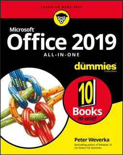 Weverka, Peter - Office 2019 All-in-One For Dummies, ebook