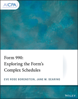 Borenstein, Eve Rose - Form 990: Exploring the Form's Complex Schedules, ebook