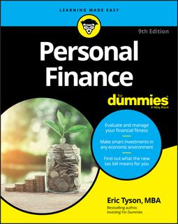 Tyson, Eric - Personal Finance For Dummies, ebook