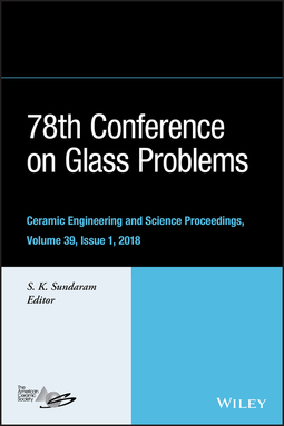 Sundaram, S. K. - 78th Conference on Glass Problems: Ceramic Engineering and Science Proceedings, Issue 1, e-bok