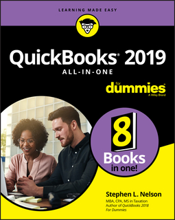 Nelson, Stephen L. - QuickBooks 2019 All-in-One For Dummies, ebook