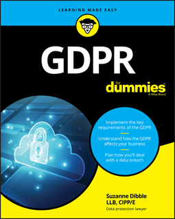 Dibble, Suzanne - GDPR For Dummies, ebook