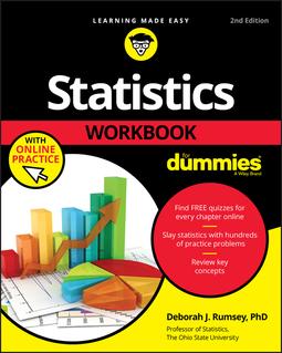 Rumsey, Deborah J. - Statistics Workbook For Dummies with Online Practice, ebook