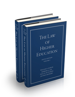 Hutchens, Neal H. - The Law of Higher Education, 2 Volume Set, ebook