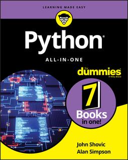 Shovic, John - Python All-in-One For Dummies, e-bok