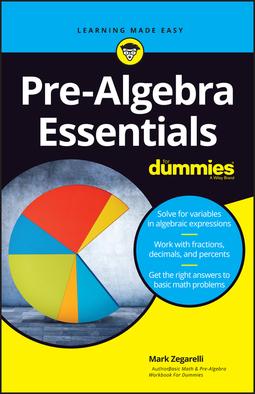 Zegarelli, Mark - Pre-Algebra Essentials For Dummies, ebook
