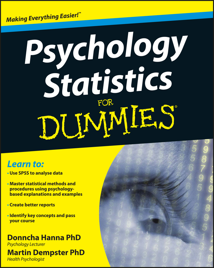 Dempster, Martin - Psychology Statistics For Dummies, ebook