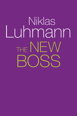Luhmann, Niklas - The New Boss, ebook