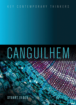 Elden, Stuart - Canguilhem, ebook