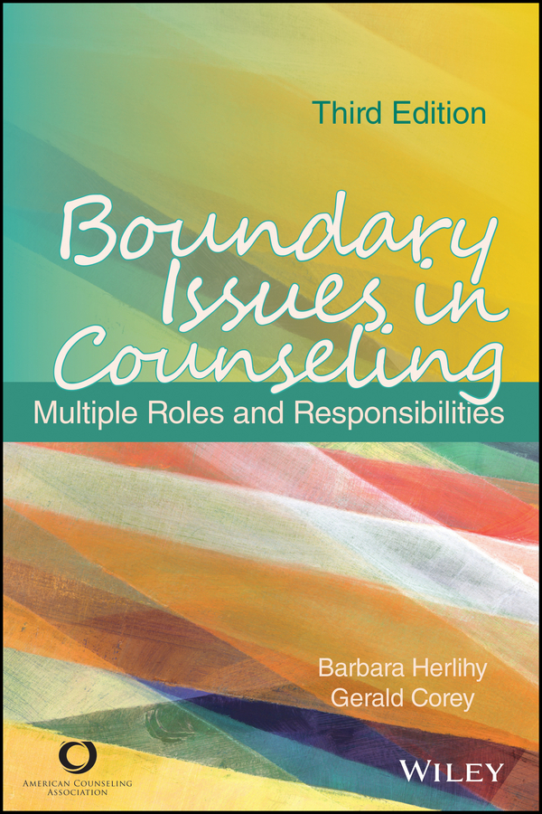Corey, Gerald - Boundary Issues in Counseling: Multiple Roles and Responsibilities, ebook