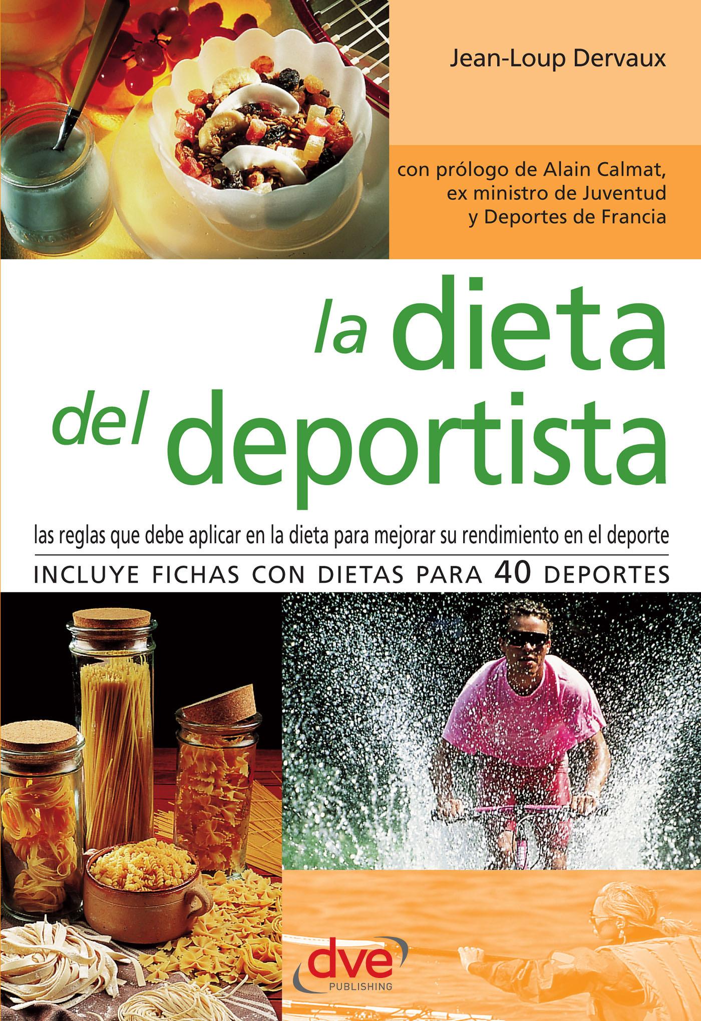 Calmat, Alain - La dieta del deportista, ebook