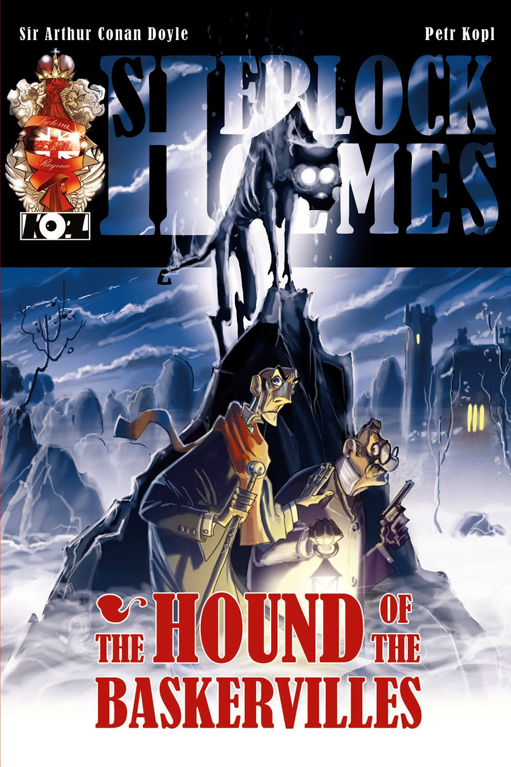 Kopl, Petr - The Hound of the Baskervilles - A Sherlock Holmes Graphic Novel, ebook