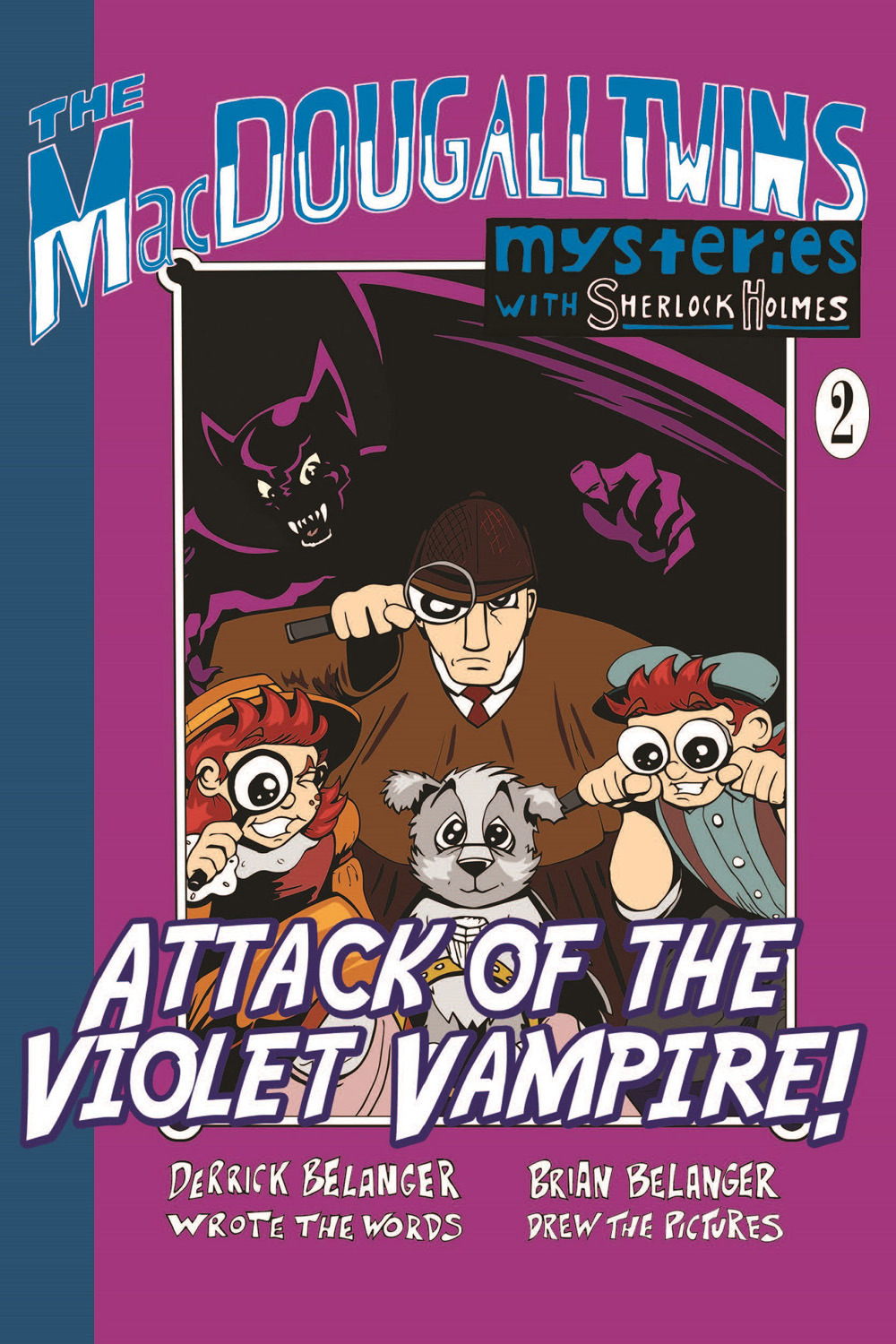 Belanger, Derrick - Attack of the Violet Vampire, ebook