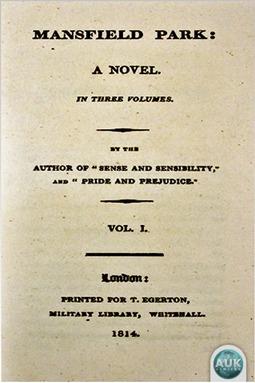 Austen, Jane - Mansfield Park, ebook