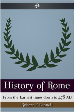 Pennell, Robert - History of Rome, ebook