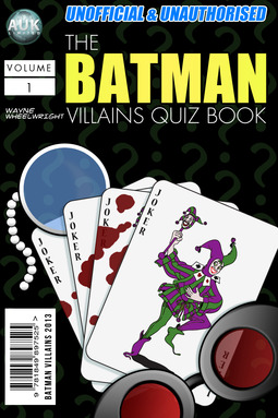 Wheelwright, Wayne - The Batman Villains Quiz Book, ebook